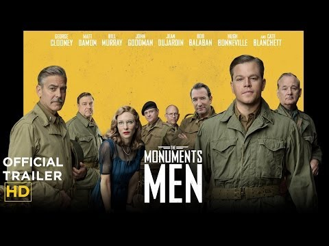 Monuments Men: Official Trailer [HD]