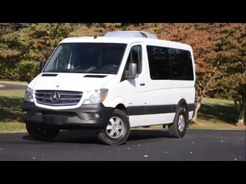 2015 Mercedes-Benz 2500 Sprinter Passenger Driven - Review - AutoTalk.com