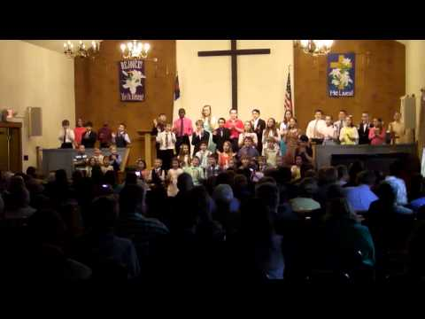 Websterville Baptist Christian School Elementary Spring Concert May 2, 2014