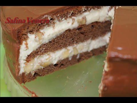 Торт Шоколадно - банановый очень вкусный