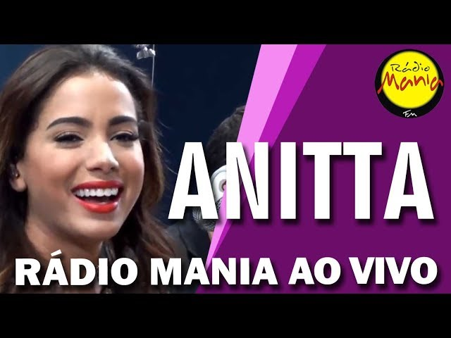 Rádio Mania - Anitta - Cobertor
