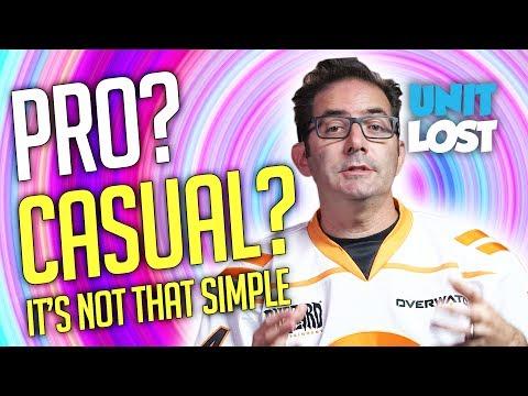 PRO or CASUAL Balance? Jeff Speaks - Overwatch