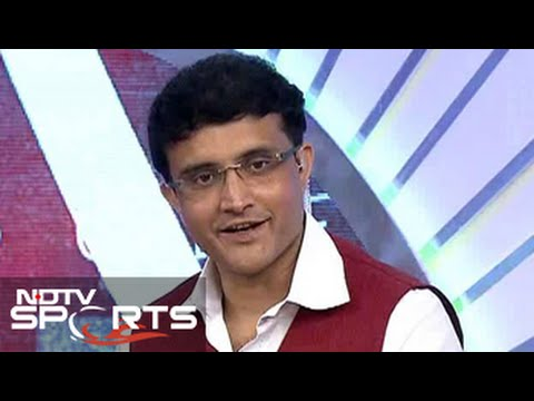 I was lucky to lead a bunch of talented players: Sourav Ganguly