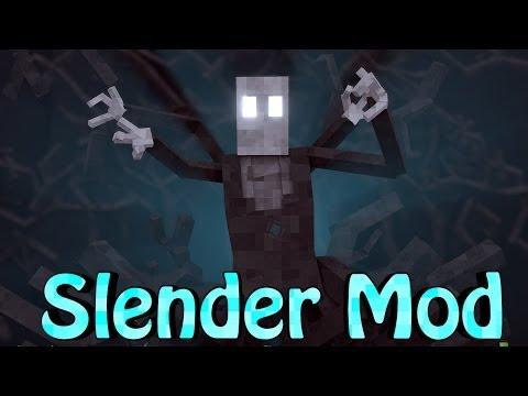Minecraft | Slenderman Showcase! (Horror Mod, Slendy, Slender)