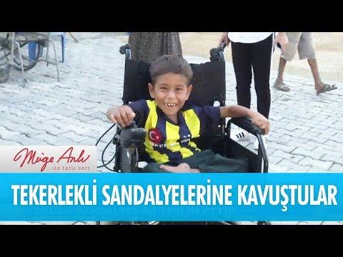 Türkiye'nin dört bir yanına tekerlekli sandalye gönderdik - Müge Anlı İle Tatlı Sert 3 Kasım