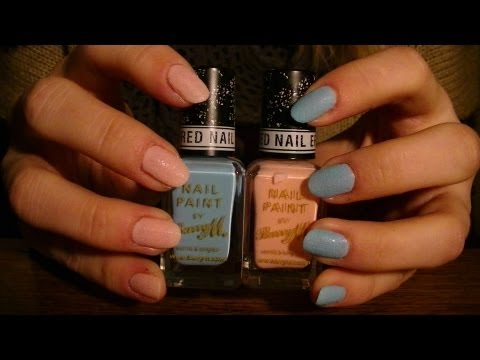 BarryM Textured Nail Effects Demo & Review