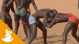 Wrestling, the king of sports in Senegal