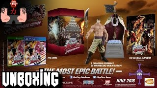 "Unboxing ""One Piece: Burning Blood Marineford Edition"""