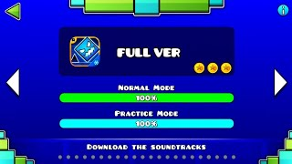ALL FULL VER LEVEL OF GEOMETRY DASH SUBZERO (All Coin) ♬ Partition
