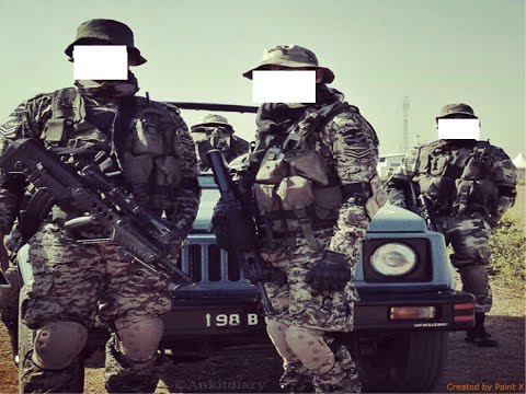 Indian Air Force Special Operations Unit- garud video