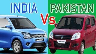 Indian Suzuki Wagon R 2019 Vs Pakistani Suzuki Wagon R 2019