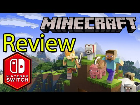 Minecraft Nintendo Switch Bedrock Gameplay Review: Crossplay Aquatic Update