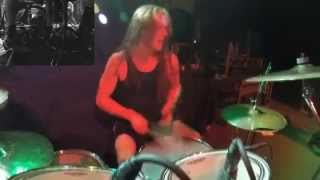 AEON Emil Wiksten - Satanic Victory (Drum-cam)