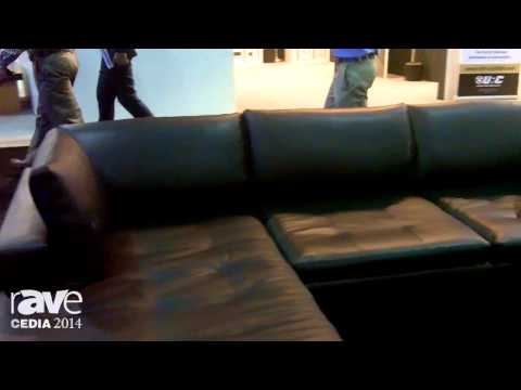 CEDIA 2014: Fortress Seating Exhibits a New Sectional