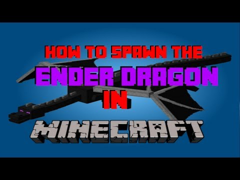 How to spawn the ender dragon in survival no mods