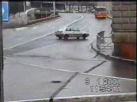 Car Crash, Traffic Accident @ Rijeka Video