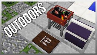 MrCrayfish's Furniture Mod Update #40 - Door Mat, Cooler, and Food!