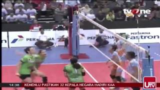 Grand Final Bola Volly Putri 2015 part VI