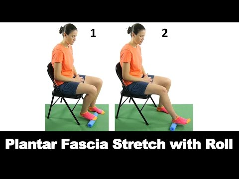 Plantar fascia stretch
