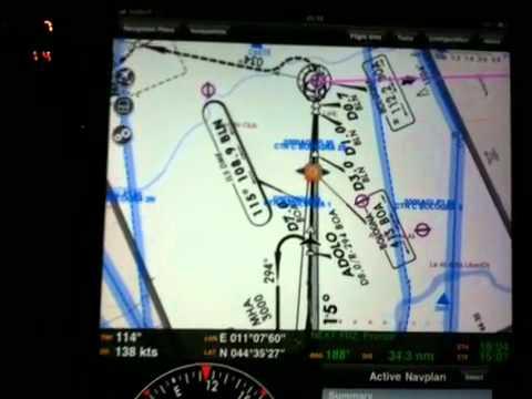ILS Air Navigation Pro on Apple iPad