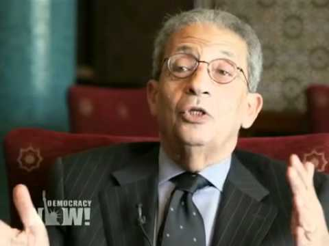Arab League Secretary General Amr Moussa on Likely Presidential Candidacy & Egypt's Future. 1 of 2