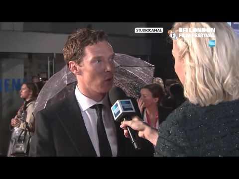 Benedict Cumberbatch at BFI Opening Gala London Red Carpet Interview
