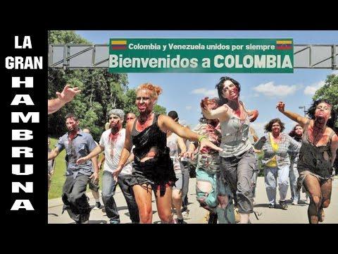 HAMBRE Y SAQUEOS EN VENEZUELA. Venezolanos cruzan frontera con Colombia