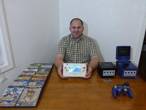 Обзор моей Самодельной Портативной Игровой Консоли Nintendo GameCube