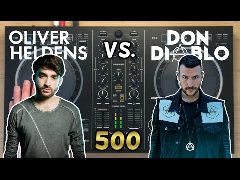 Oliver Heldens vs Don Diablo Live Mix 2017   Pioneer DDJ-RB [500 SUBS SPECIAL]