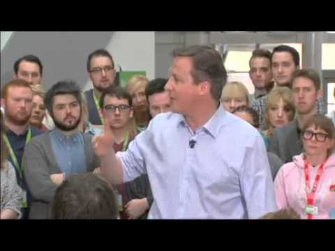 David Cameron gaffe: This is a real 'career defining' election
