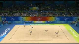 Greece 5 rope 2008 olympic games Beijing