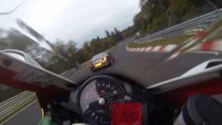 Nürburgring Nordschleife Aprilia RSV4 8min BTG