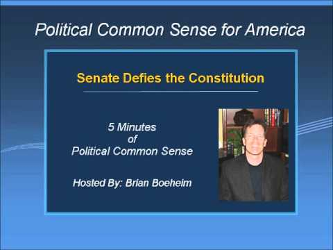 Senate Defies the Constitution
