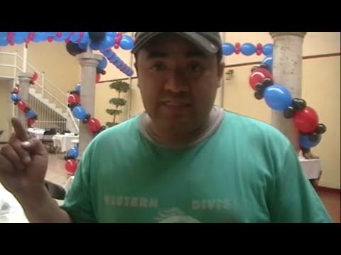 curso decoracion con globos spiderman video 2 wmv