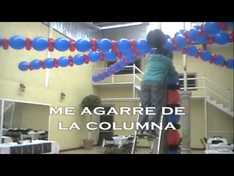 curso decoracion con globos spiderman video 2 wmv