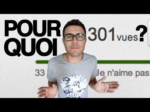 image vidéo Pourquoi YouTube bloque à 301 vues ? - Cyprien