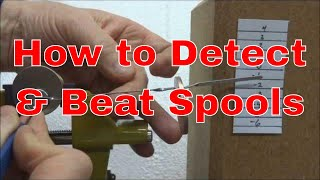 (189) How to Detect and Beat Spool Pins (for Beginners)