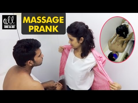 Massage Prank in India | 2016 Latest Pranks in India | One in All thumbnail