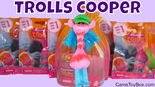 Dreamworks Trolls Cooper Series 1 Blind Bags Surprise Toys Names Opening Fun for Kids Toy