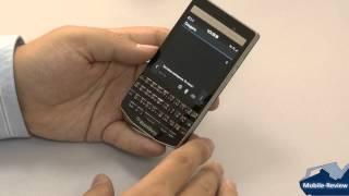 Видеообзор BlackBerry P9983