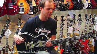 Gibson Les Paul Custom Ebony demo - Nick from Gibson at PMTVUK
