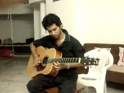 Mere Dil Mein Aaj Kya Hai On Guitar (kunal) video