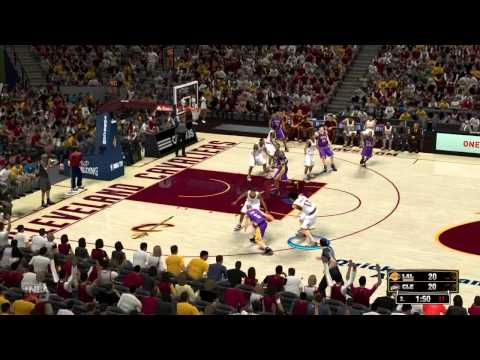 *HD* Los Angeles Lakers at Cleveland Cavaliers 94-100 _ 7th Matchday _ 12/12/2012 NBA 2K13 forecast
