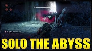 Destiny - How to Solo Cheese the Abyss (AFTER PATCH)