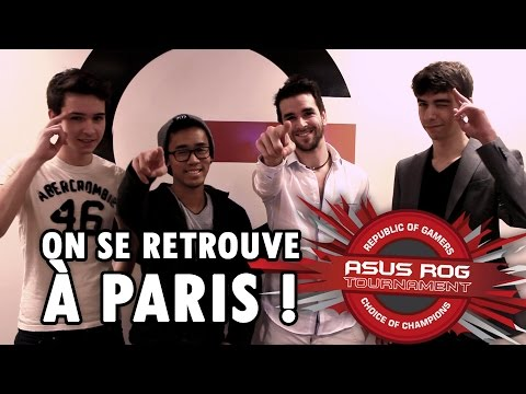 ASUS ROG en direct de la PARIS GAMES WEEK !