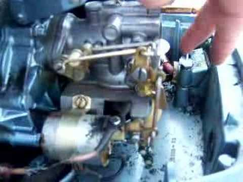 35 Evinrude Carb Linkage Youtube