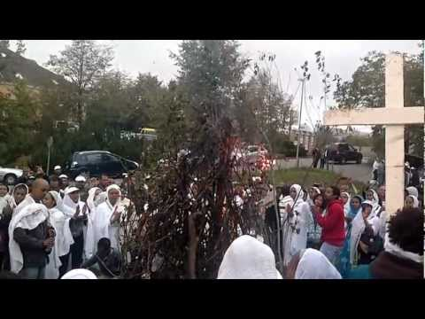 Meskel Demera Mezmur 2012  St. Mary's Ethiopian Orthodox Church, Zurich, Switzerland video