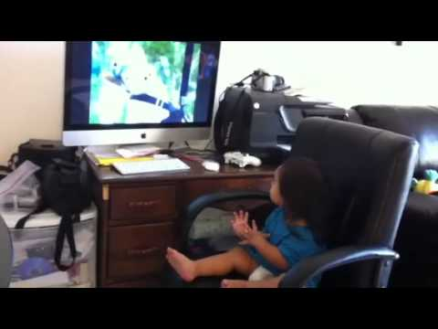 Baby Loves The Geico Pig Commercial video