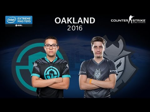 CS:GO - Immortals vs. G2 Esports [Cobble] - Group A - IEM Oakland 2016