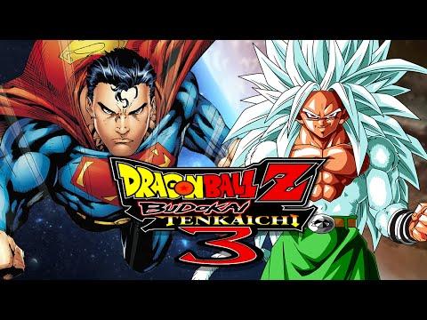 Dbzbt3: Superman Vs Ssj5 Goku (duels) video